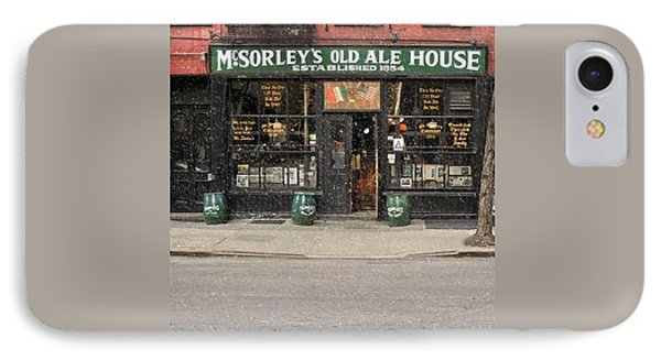 Mcsorley's Old Ale House IPhone Case by Doc Braham