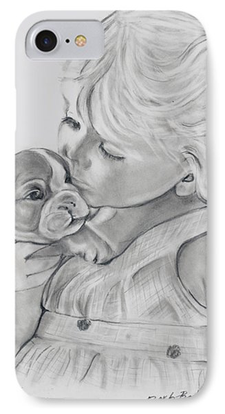 Me And My Puppy IPhone Case