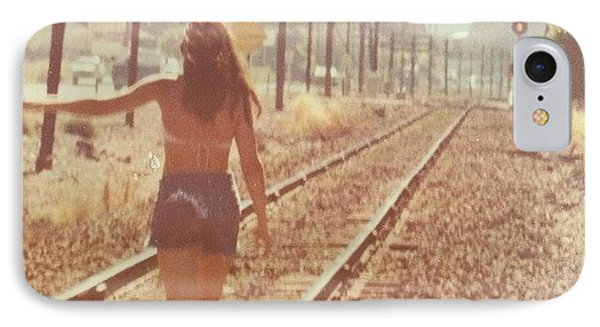 Me Back In The 70s When Livin' Was IPhone Case