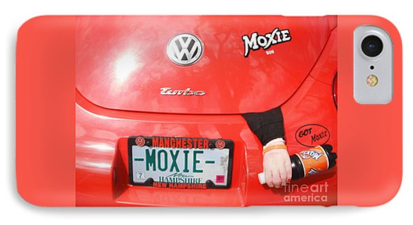 Moxie Power IPhone Case by GJ Glorijean