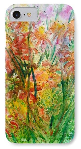 Meadow Flowers Phone Case by Zaira Dzhaubaeva