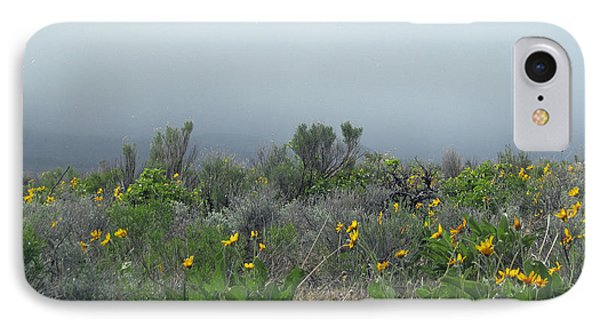 IPhone Case featuring the photograph Meadow Fog by Jennifer Muller