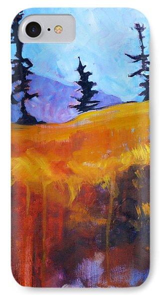 Meadow Mountain Phone Case by Nancy Merkle