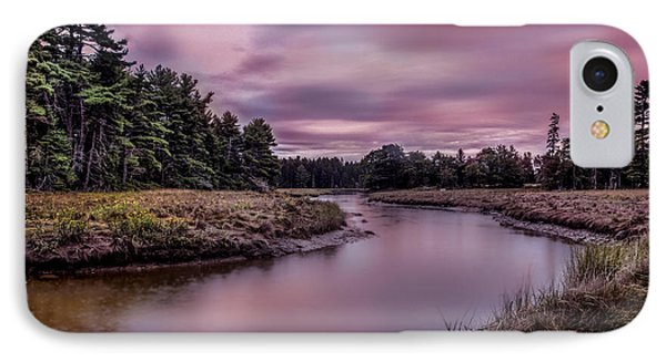 IPhone Case featuring the photograph Meandering Inlet by Steve Zimic
