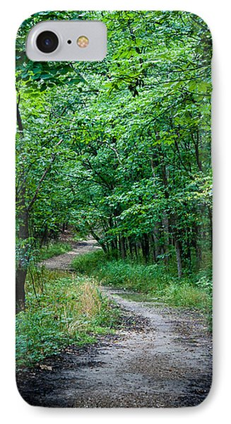 IPhone Case featuring the photograph Meandering Path by Wayne Meyer