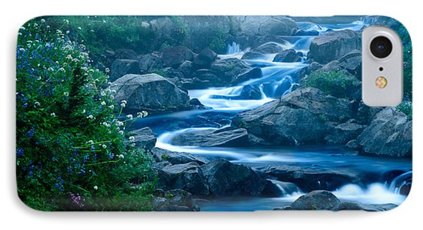 Meandering Stream IPhone Case by Chris McKenna
