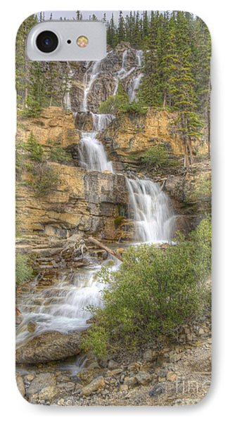 IPhone Case featuring the photograph Meandering Waterfall by Wanda Krack