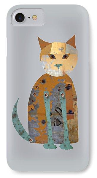 Mechanical Cat Phone Case by Ann Powell