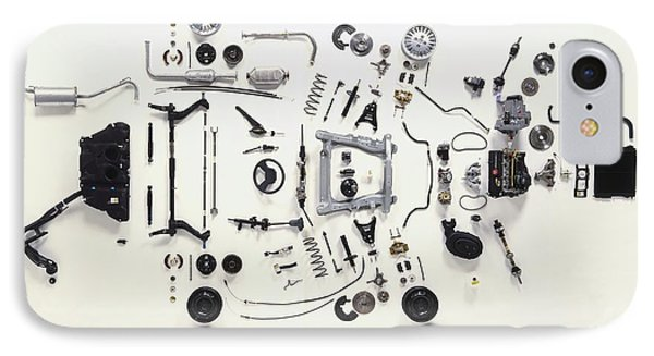 Mechanical Components IPhone Case