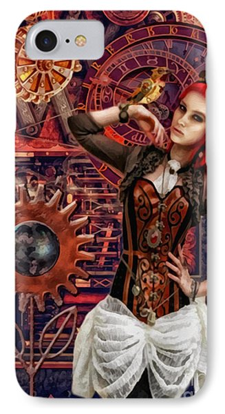 Mechanical Garden Phone Case by Mo T