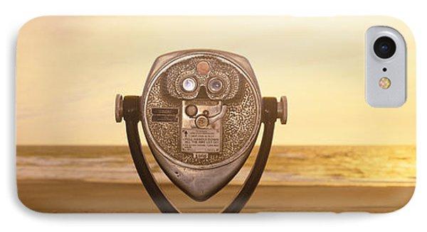 Mechanical Viewer, Pacific Ocean IPhone Case