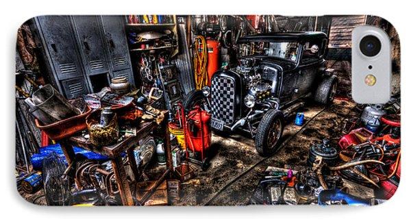 Mechanics Garage IPhone Case