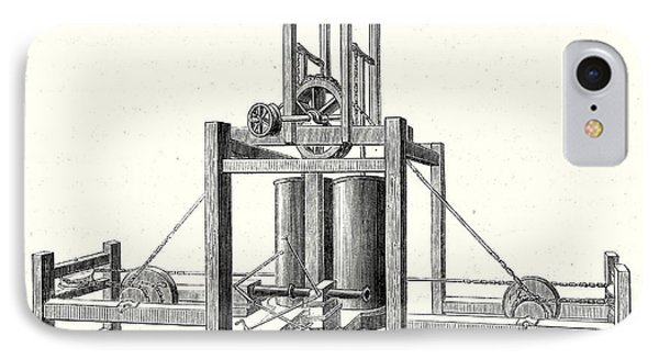 Mechanism Of Miller Taylor And Symingtons Steamboats Engine IPhone Case