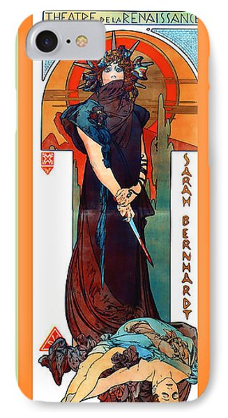 Medee Phone Case by Alphonse Maria Mucha
