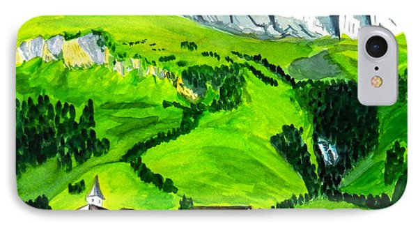 Medels In Switzerland IPhone Case