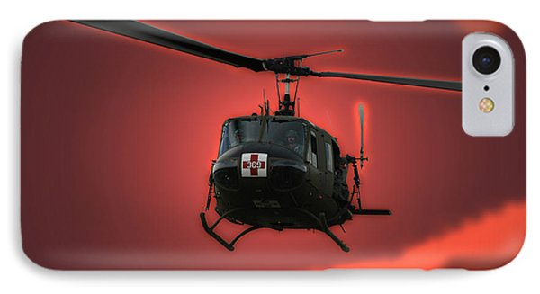 Medevac The Sound Of Hope IPhone Case by Thomas Woolworth