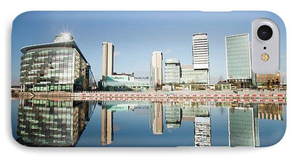 Media City IPhone Case