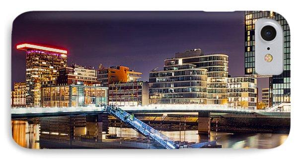 Media Harbor Dusseldorf IPhone Case