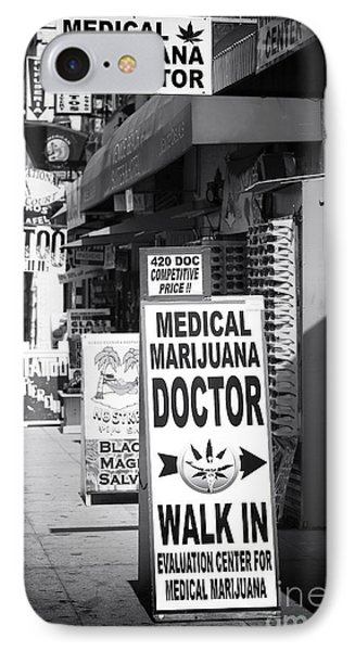 Medical Marijuana Doctor Phone Case by John Rizzuto