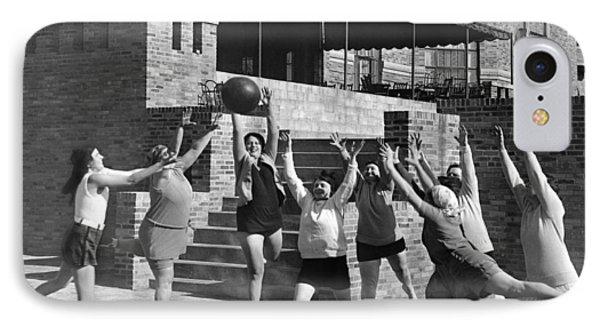 Medicine Ball Exercise IPhone Case