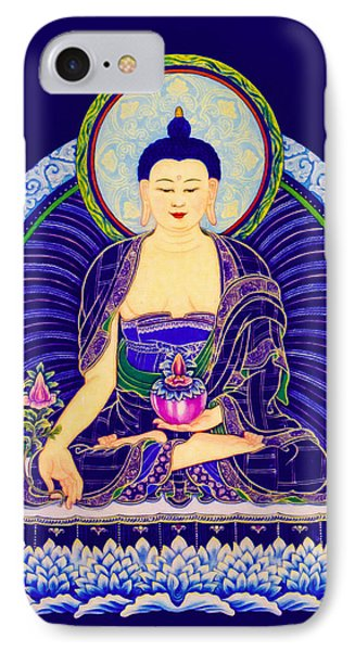 Medicine Buddha 6 IPhone Case by Lanjee Chee