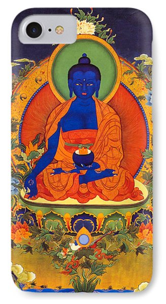 Medicine Buddha IPhone Case by Lanjee Chee