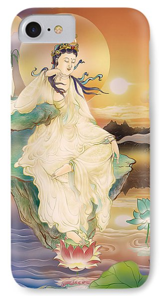 Medicine-giving Kuan Yin IPhone Case by Lanjee Chee