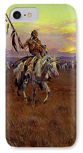 Medicine Man IPhone Case by Charles Marion Russell