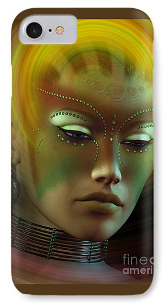 IPhone Case featuring the digital art Medicine Woman B by Shadowlea Is