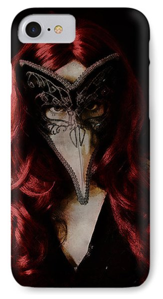 IPhone Case featuring the digital art Medico Della Peste by Galen Valle