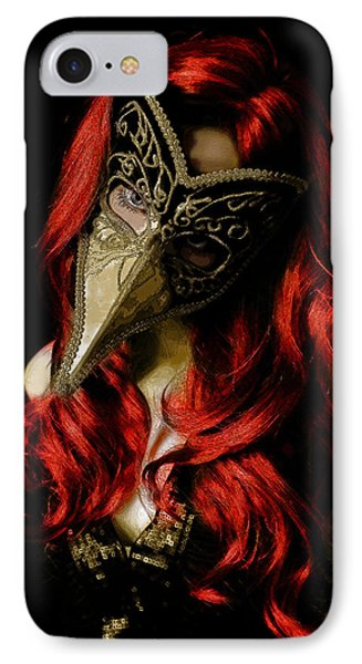 IPhone Case featuring the digital art Medico Della Peste Seconda by Galen Valle