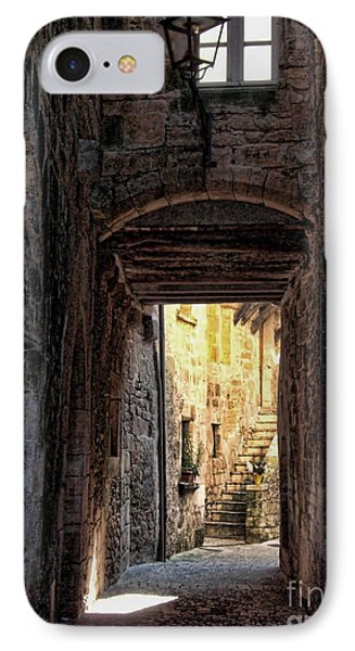 Medieval Alley IPhone Case by Joan  Minchak