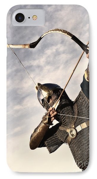 Medieval Archer IPhone Case by Holly Martin