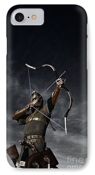 Medieval Archer II IPhone Case by Holly Martin