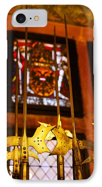 Medieval Armory, Chateau Du IPhone Case by Panoramic Images