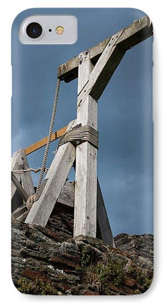 Medieval Crane IPhone Case by Mark Williamson