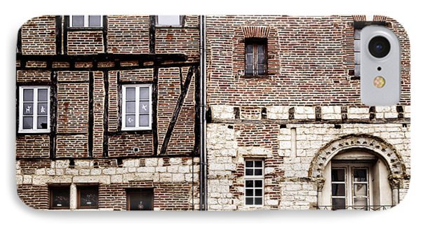 Medieval Houses In Albi France IPhone Case by Elena Elisseeva
