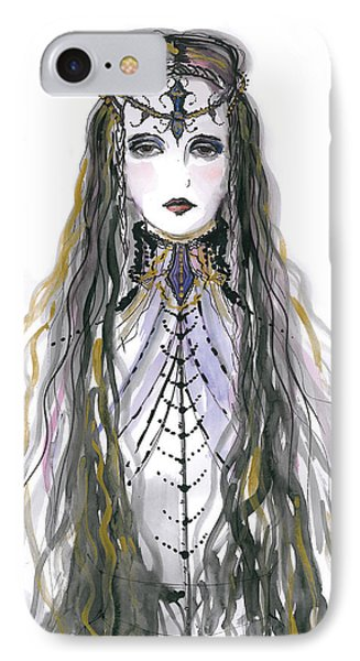 Medieval Princess IPhone Case by Marian Voicu