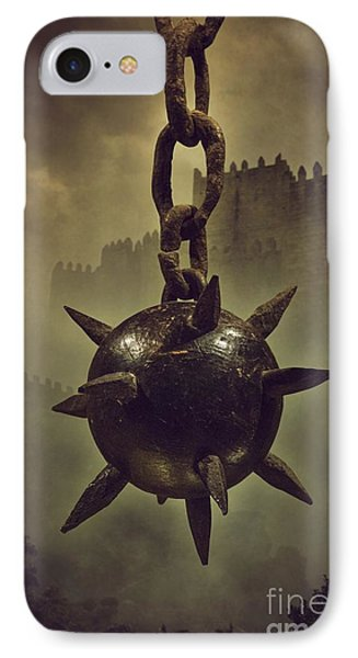 Medieval Spike Ball  IPhone Case by Carlos Caetano