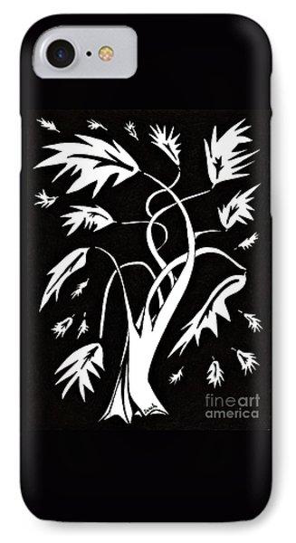 Medieval Tree IPhone Case by Sarah Loft