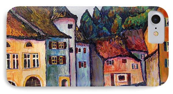 Medieval Village Of St. Ursanne Switzerland IPhone Case