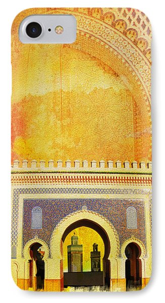 Medina Of Faz IPhone Case by Catf