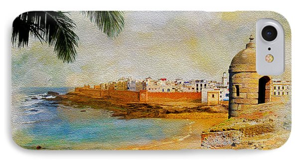 Medina Of Tetouan IPhone Case by Catf