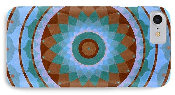 Meditation Mandala Phone Case by Vlatka Kelc