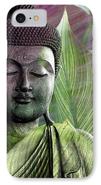 Meditation Vegetation Phone Case by Christopher Beikmann