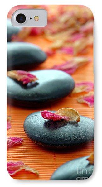 Meditation Zen Path Phone Case by Olivier Le Queinec