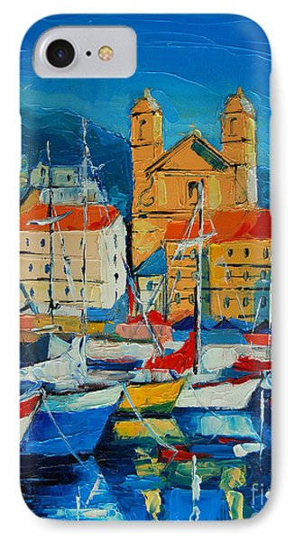 Mediterranean Harbor IPhone Case