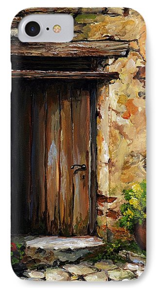 Mediterranean Portal IPhone Case by Emerico Imre Toth