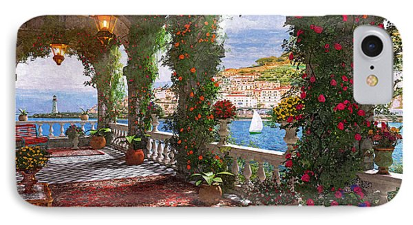 Mediterranean Veranda IPhone Case