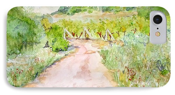 Medjugorje Path To Apparition Hill IPhone Case by Vicki  Housel